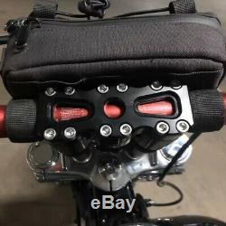 1 1/8'' / 28mm Handlebars Risers 8 Club Style Dyna Street Bob Softail Sportster