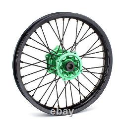 19 x 2.15 MX Rear Wheel Kit Rim for Kawasaki KX125 KX250 KX250F KX450F klx450