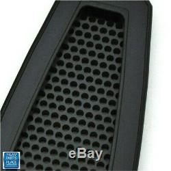 1967-69 F Body Door Jamb Vents Open Design Billet Aluminum Black Anodized 39102