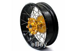 2.1521'' /4.2517 Wheels Rims Set For BMW F800GS Adventure 2008-2020 Tubeless