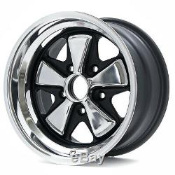 2 Maxilite Wheels for Porsche 911 8x15 Anodised Look withTÜV
