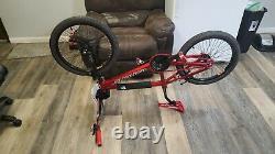 2004 Redline Proline XL (21-1/2) 20 Bmx Bike Red Anodized / Black