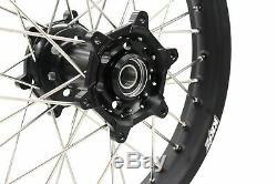 21/18 Wheel Rims Set Fit Suzuki Drz400 Drz400sm Drz400e Drz400s Enduro Dirtbike