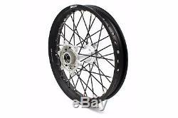 21/19 Kke MX Casting Wheel Rim Set For Ktm Sx Sxf 125 200 250 450 505 2003-2020