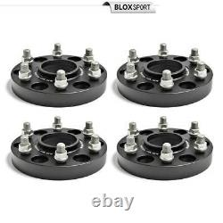 (4) 1 inch Forged Aluminum Wheel Spacers Adapters 6x139.7 for Nissan Tita XD