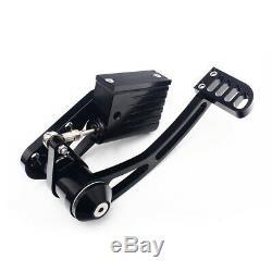 84-99 Anodized Black Forward Controls fits FLSTC Fatboy FLSTF FLSTFI Billet New