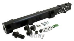 AEM Black Fuel Rail H22 H23 Prelude 92-01 Accord 90-93 F22 25-104BK
