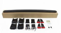Aerodynamic Black Anodised Aluminium Cross Bar For Audi A6 C7 Allroad Quattro
