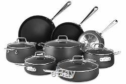 All-Clad HA1 Anodized Non Stick Cookware Set Set of 13