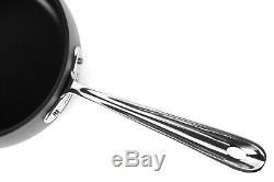 All-Clad HA1 Nonstick Cookware 20 Piece Pots, Pans Utensils Set Hard Anodized B1