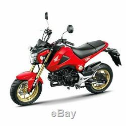 Aluminium Wheels Roller Caster Black For Honda Grom Msx 125 Msx Sf 125 2013-2020
