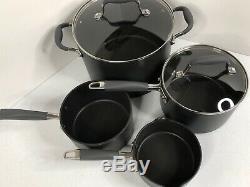 Anolon Advanced 10 Piece Hard Anodized Nonstick Cookware Set