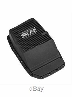 B&M Transmission Pan Deep Aluminum Black Anodized Ford 6R80 (70394)