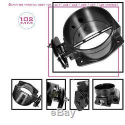BOOSTEC LSx 102MM Super Big Billet Throttle Body for LS1/LS2/LS3/LS6/LS7 engine