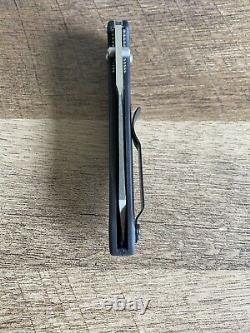 Benchmade 940 Knife Rare with Black Aluminum Handles Read Description