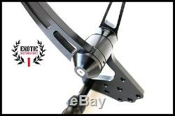 Billet Aluminum Forward Controls Harley Softail 1984/1999 Anodized Black