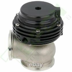 Black Aluminium Wastegate for Tial MVS With V-Band & FLanges MV-S 38mm Tial