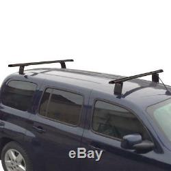 Black Vantech 2 bar Aluminum ladder roof rack with 50 bars for Chevy HHR