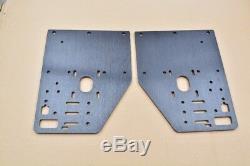 Brand new, Unused Ox CNC Aluminium Plates full kit, black anodised colour
