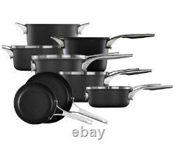 Calphalon Premier 12-Piece Hard Anodized Space Saving Stackable Cookware