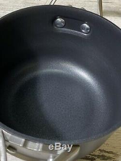 Calphalon Premier Hard Anodized Nonstick 8-Pc Cookware Set Store Display
