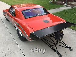 Chevy Camaro 67-69 Aluminum Pro Street wing, Polished, Black, Brushed Anodized