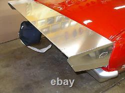Chevy Nova 68-74 Aluminum Pro Race wing Polished, Black, Brushed Anodized