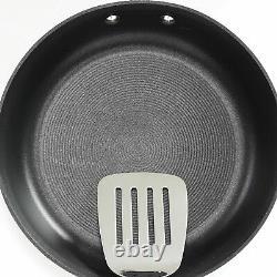 Circulon Acclaim Hard Anodized Nonstick Cookware Pots and Pans Set, 13 PC, Black