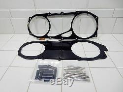 Composimo Gy6 Billet Aluminum Open Cvt Drive Cover (anodized Black)
