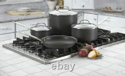 Cuisinart 66-7 Chef's Classic Nonstick Hard-Anodized 7-Piece Cookware Set