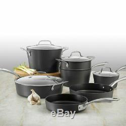 Cuisinart Chef's Classic Hard-Anodized Non-Stick 11-Piece Induction Cookware Set