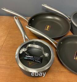 Cuisinart DS Anodized 11pc Cookware Set DSA-11 Dishwasher Safe