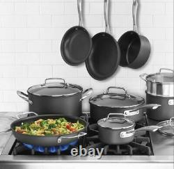 Cuisinart Professional Non-Stick Hard Anodized 15-Pc. Cookware Set Cooking Tools