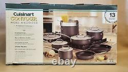 Cusinart 13 Piece Contour Hard Anodized Professional Cookware Model 64-13
