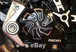Ducati Xdiavel / S Clutch Cover Ducabike Black Cnc Aluminum Anodizing