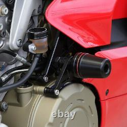 Engine Frame Slider Guard Pad Protect For Ducati Panigale V4/V4S/V4 SP 2018-2021