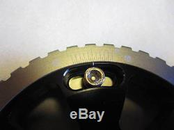 Fiat 124 Spider, 131 Adjustable Cam Gears, Billet Aluminum, Black Anodized