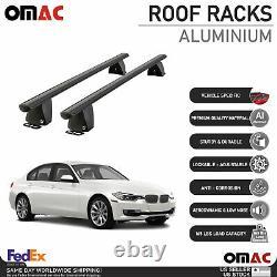 Fits BMW 3 Series Sedan 2012-2018 Fixed Point Roof Rack Cross Bar Carrier Rail