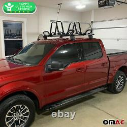 Fits Ford F-150 SuperCrew Cab 2015-2020 Smooth Roof Rack Cross Bar Cargo Carrier