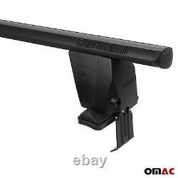 Fits Lexus IS Sedan 2006-2013 Smooth Top Roof Rack Cross Bar Carrier Rail Black