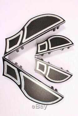 Footboards Floorboards Footpegs Foot Pegs Floor Boards Harley Touring Glide Fl