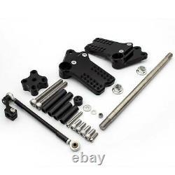 For KTM RC250 RC390 Duke 125 200 390 Footpegs Rearset Rear Set Brake Shift CNC