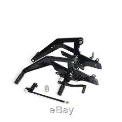 For Kawasaki Ninja 650 EX650 ABS Adjustable Rearset Racing Style 2012-2016