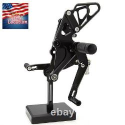 For Yamaha FZ07 MT07 2013 2014 2015 2016 2017 Rearset Footrest Footpegs Pegs US