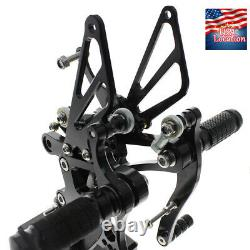 For Yamaha YZF R1 1998-2003 99 01 02 CNC Footpegs Rearset Footrest Foot Pegs US