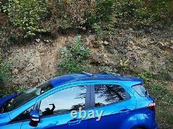 Ford EcoSport Roof Rack Cross Bars Black Color