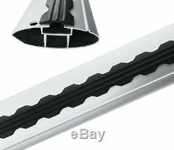 GRAND CHEROKEE LAREDO Roof Rack Bars For Vehicles With Raised Roof Rails BLACK