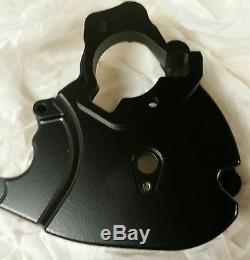 Hayabusa Billet sprocket cover gen 2 black anodize finish