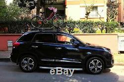 Honda HR-V Roof Rack And Cross Bar Black