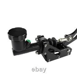 Hydraulic Drift Hydro E-Brake Racing Handbrake Lever Gear Locking Oil Tank Black